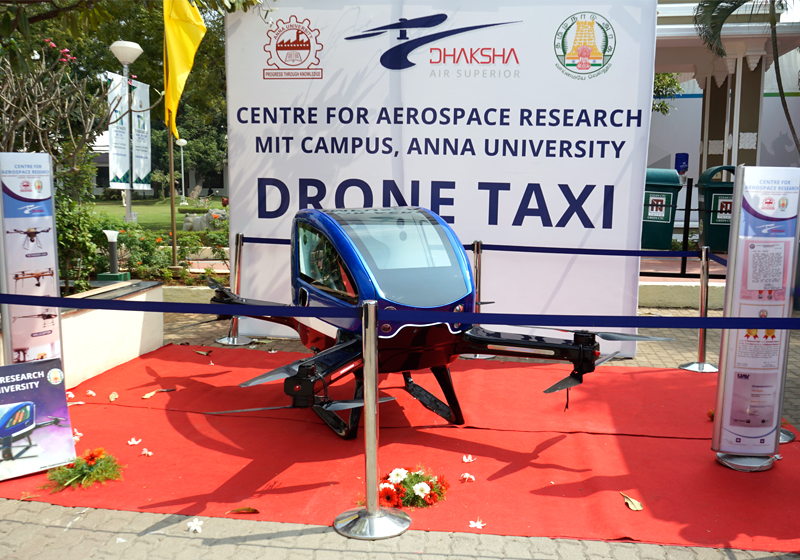 Drone Taxi | Global Investors Meet (GIM) - 2019 | Team Dhaksha