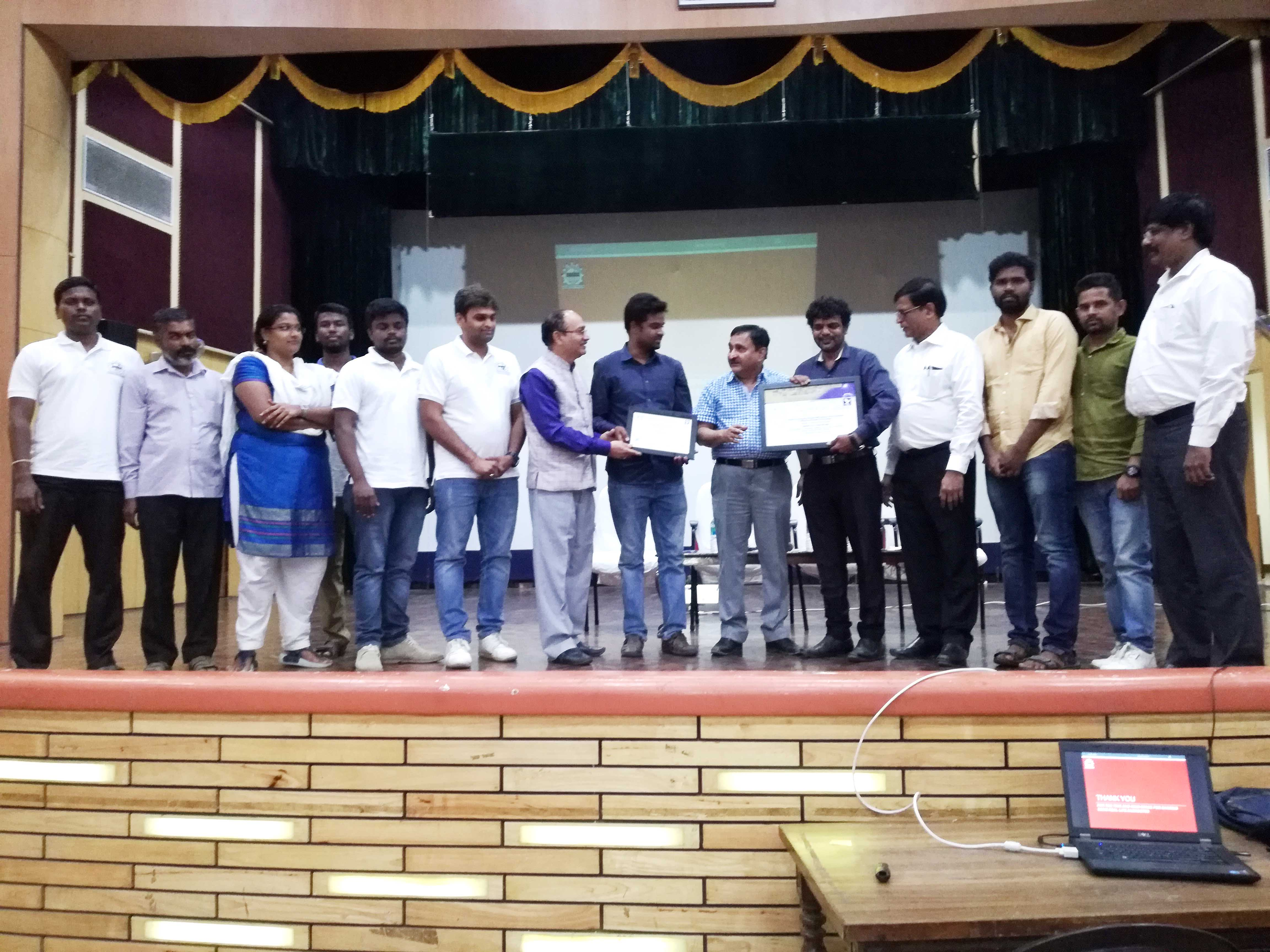 Team Dhaksha | Achieved | World Record for Duration | Certificate
