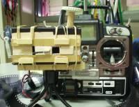 Pinhole camera R/C rig
