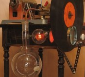 Steampunk Mechanical TV