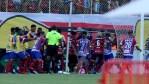 Botrányos véget ért a brazil rangadó