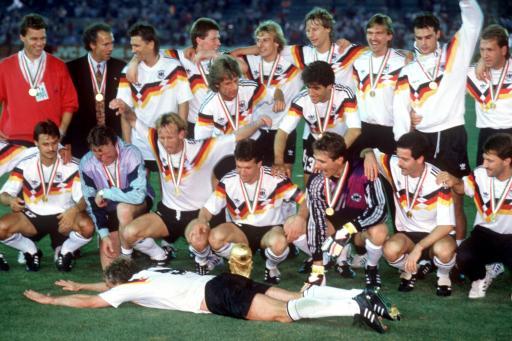 Számokban a 90'-es német világbajnok csapat