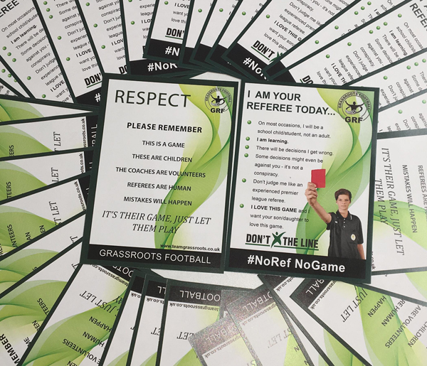 teamgrassroots respect flyer