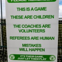 Pitchside Respect Board A2 Size