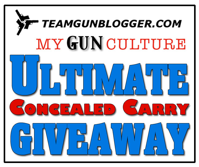 Announcing the Teamgunblogger / My Gun Culture Ultimate Concealed Carry Giveaway