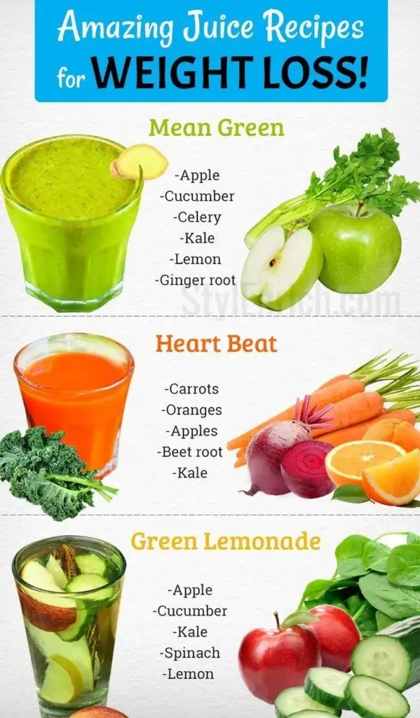 amazing-juice-recipes-for-weight-loss