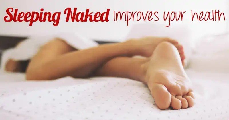 sleeping-naked improves your health graphic