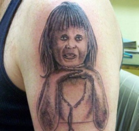 Worst tattoos bad tattoo portraits funny tattoos ugliest ugly funny family pictures awkward family photos bad family