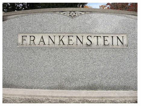 Frankenstein Funny tombstones, funny gravemarkers funny headstones funny names stupid names sexual innuendos bad tattoos worst tattoos funny signs sexual innuendos funny halloween awkward family photos bad family worst family