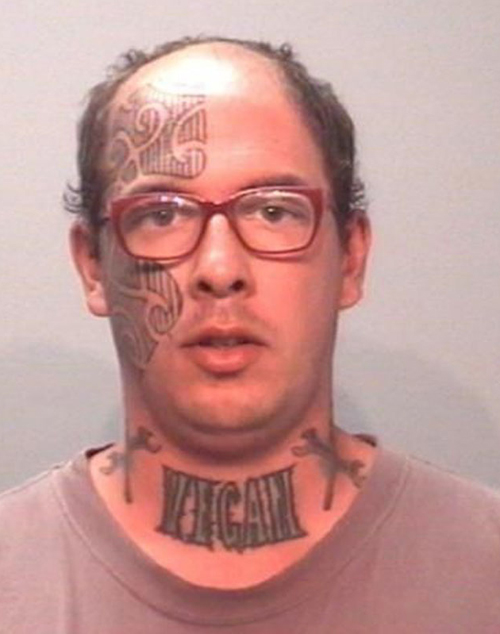 Mugshot Tattoos, Worst Tattoos Ever, Funny Tattoos, Funny Pictures Ugliest Tattoos, Horrible, Stupid Tattoos