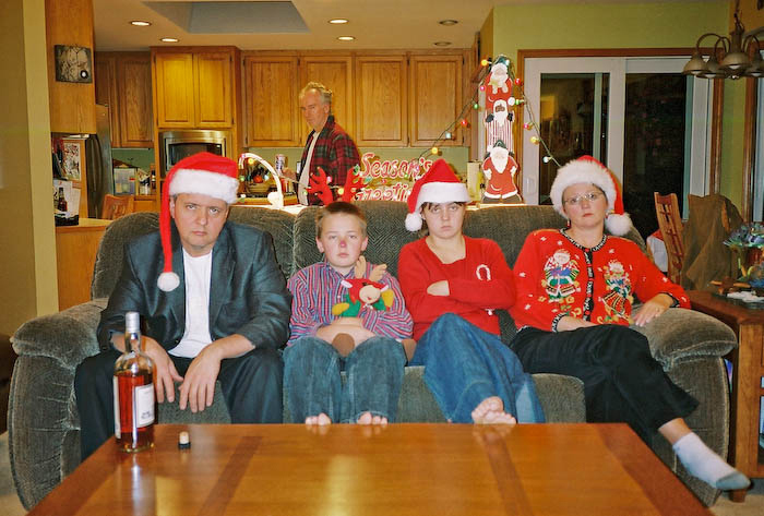 TOP 10 Funny Family Christmas Photos