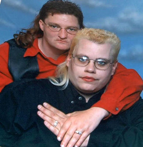 Bad Mullets, Funny Family Portraits, worst family photos funny family pictures pics ellen bad family photos worst tattoos bad tats strange weird
