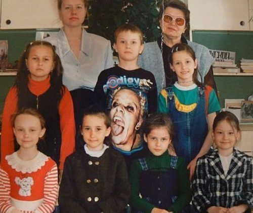 Bad School Pictures, Funny Family Portraits, worst family photos funny family pictures pics ellen bad family photos worst tattoos bad tats strange weird