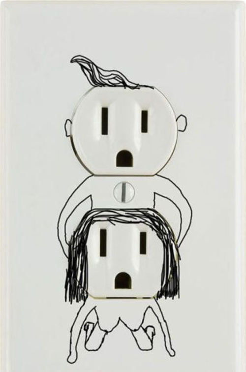 Funny electrical outlet art Anal Tours funny pictures weird pictures pics awkward family photos bad tattoos worst tattoos stupid people bad family photos funny family pics random strange crazy wtf