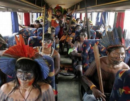 warriors on a bus african tribesmen on bus funny pictures weird pictures pics awkward family photos bad tattoos worst tattoos stupid people bad family photos funny family pics random strange crazy wtf