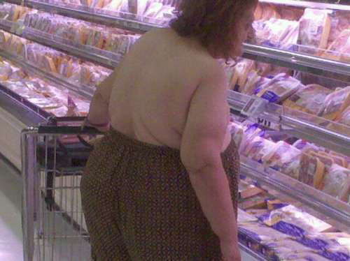 pants pulled high over boobs people of walmart Balls door knocker funny pictures weird pictures pics awkward family photos bad tattoos worst tattoos stupid people bad family photos funny family pics random strange