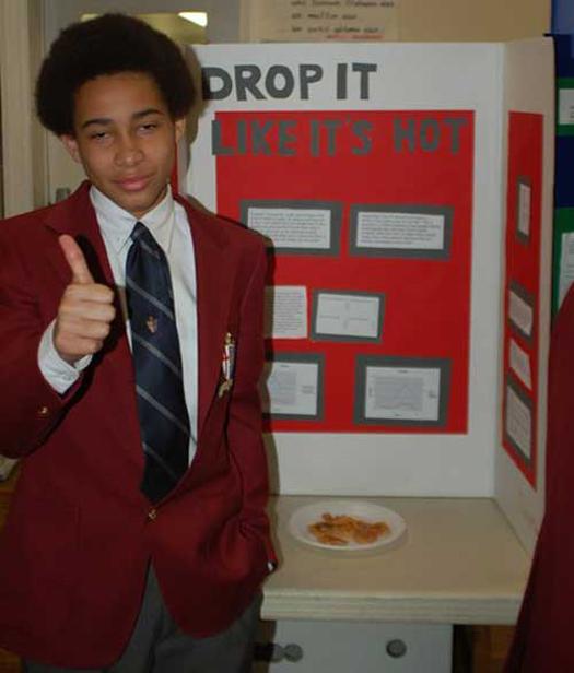 Drop it like it's hot ~ 36 Funny School Science Fair Projects!