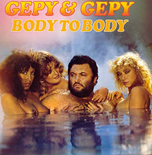 Gepy & Gepy Body to Body Worst album covers bad album covers funny albums lps vinyl classic album art rock gospel big hair worst tattoos funny pictures awkward family photos stupid horrible terrible records awful