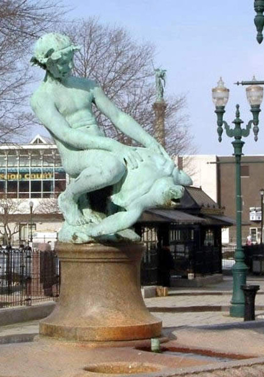 Riding Humping Turtle Funny Statues Weird Statues Bizarre Sexual Strange Statues Awkward Crazy Art