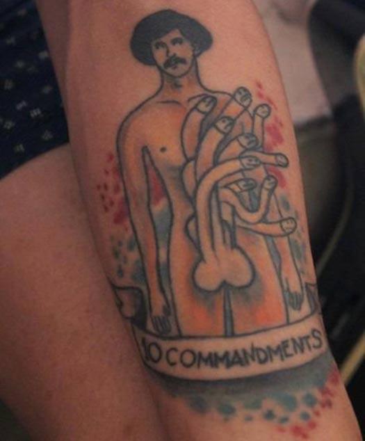 WTF??? – Bad Tattoos Worst Tattoos Regrettable Ugliest Tats WTF Penis – Bad Tattoos Worst Tattoos Regrettable Ugliest Tats WTF Penis Funny