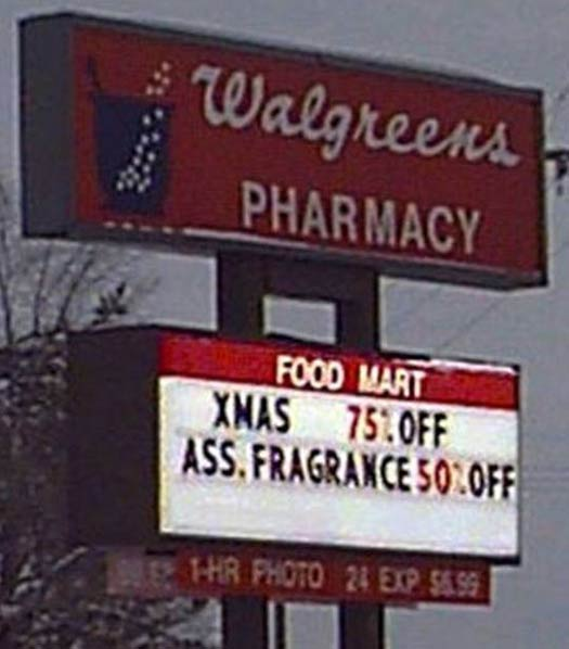 Ass Fragrance - Funny Signs