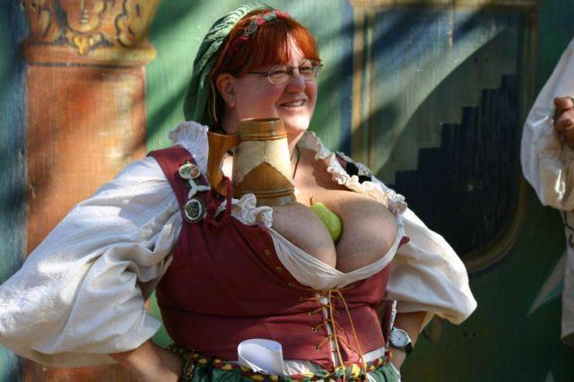 A lovely pair indeed - Awkward Weird Worst Stupid Funny Bad Family Photos boobs