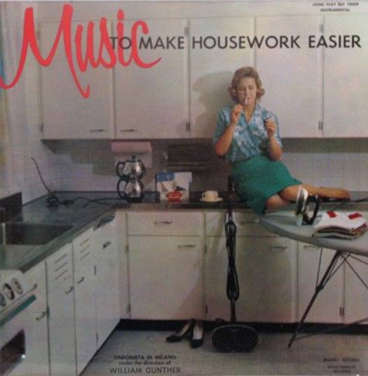 Music to Make House Work Easier – Worst Album Covers Bad LPs