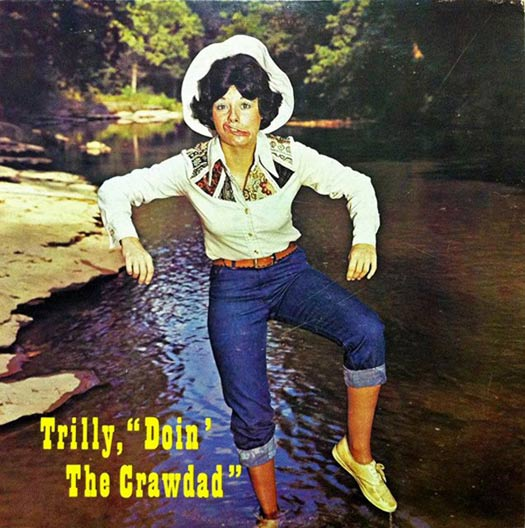 Trilly Doin' the Crawdad – Worst Album Covers Bad LPs