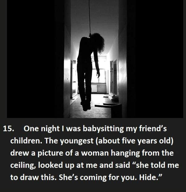 17 Creepy Things Kids Have Said To Babysitters Team
