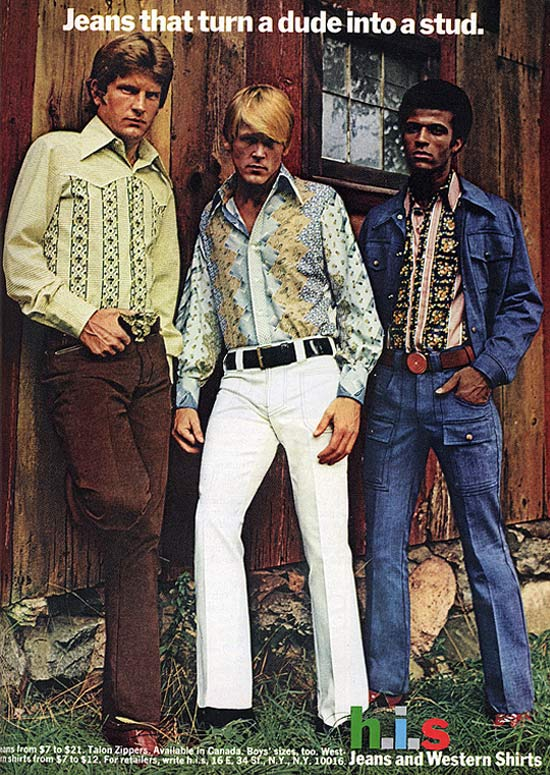 How to Become a Stud ~ 35 Bitchin' 70s Mens Fashions