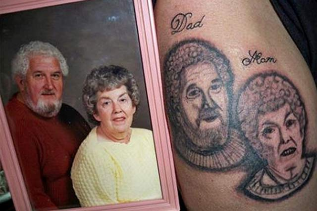 bad tattoos more of the worst in terrible worst tattoos