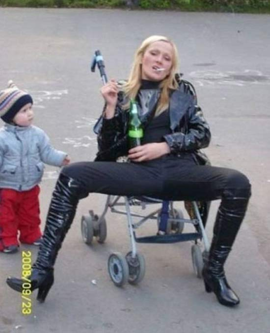 Stroller Mamma ~ 27 More of the Worst Parents Ever!