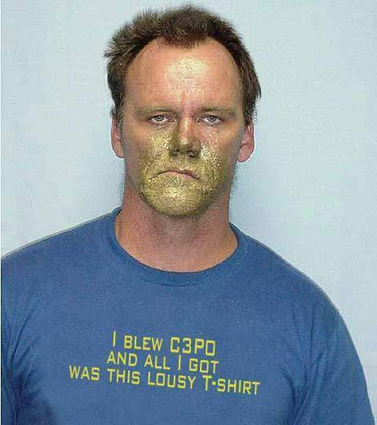 27 of the Funniest Mugshots Ever!