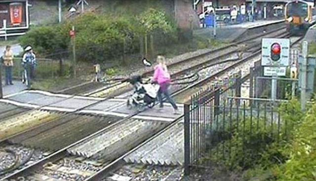 Stroller on the Tracks ~ 27 More of the Worst Parents Ever!