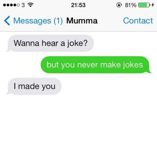 ~ 27 of the Funniest Text Messages Ever ! ~
