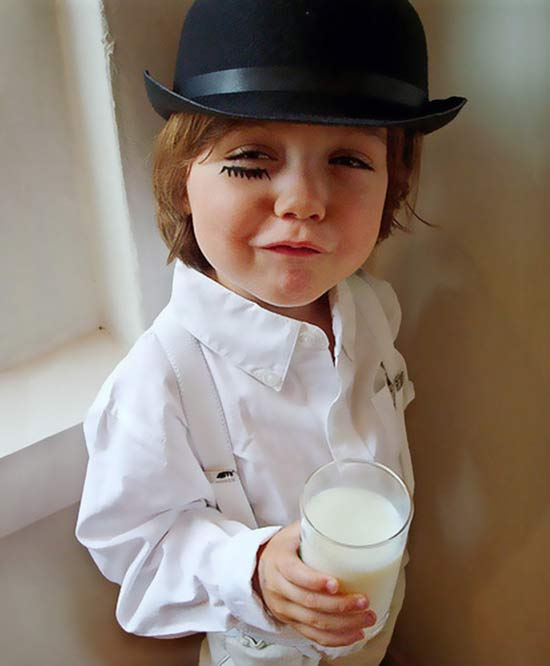 A Clockwork Orange ~ 30 of the Best Kids Halloween Costumes