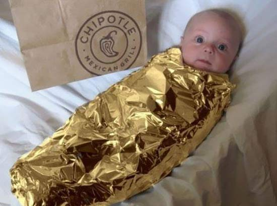Chipotle Burrito ~ Best Kids Halloween Costumes