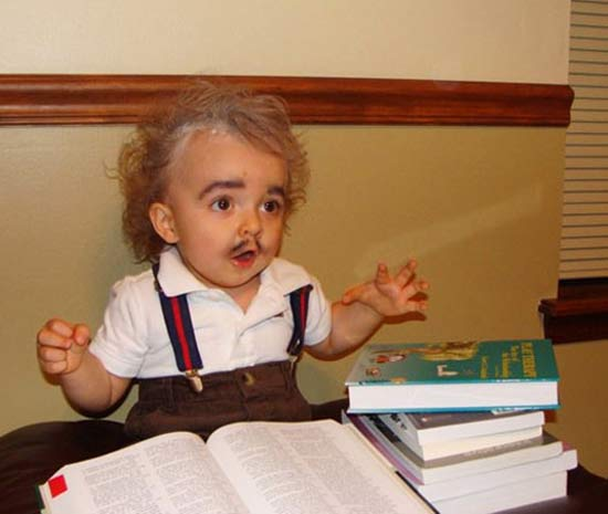 Einstein ~ 30 Great Halloween Costumes for Kids