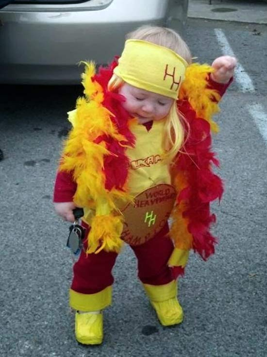 Hulk Hogan ~ 30 Great Halloween Costumes for Kids