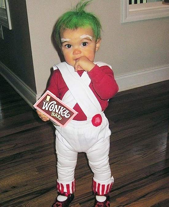 Oompa Loompa ! 30 Great Halloween Costumes for Kids