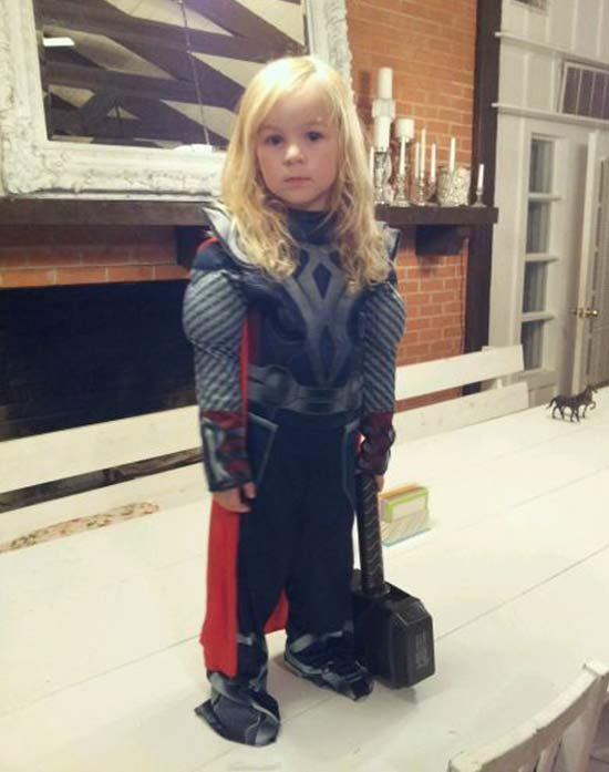 Thor ~ 30 of the Best Kids Halloween Costumes