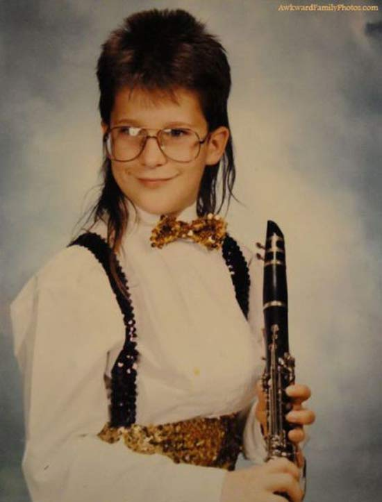 Band Nerd ~ 35 of the Best, Classic Mullets