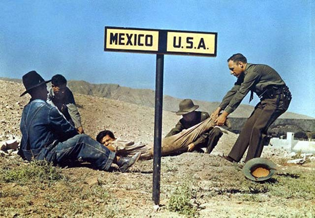 Fugitive as U.S. & Mexico Border ~ 28 Historical Must See Photos