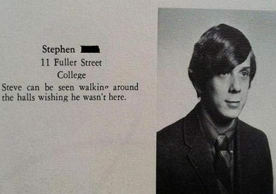 Funny Yearbook Names: 35 Funny Yearbook Quotes Of Uninspired Seniors