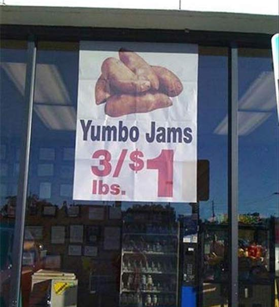 Yumbo Jams ~ 27 You Had One Job Fails