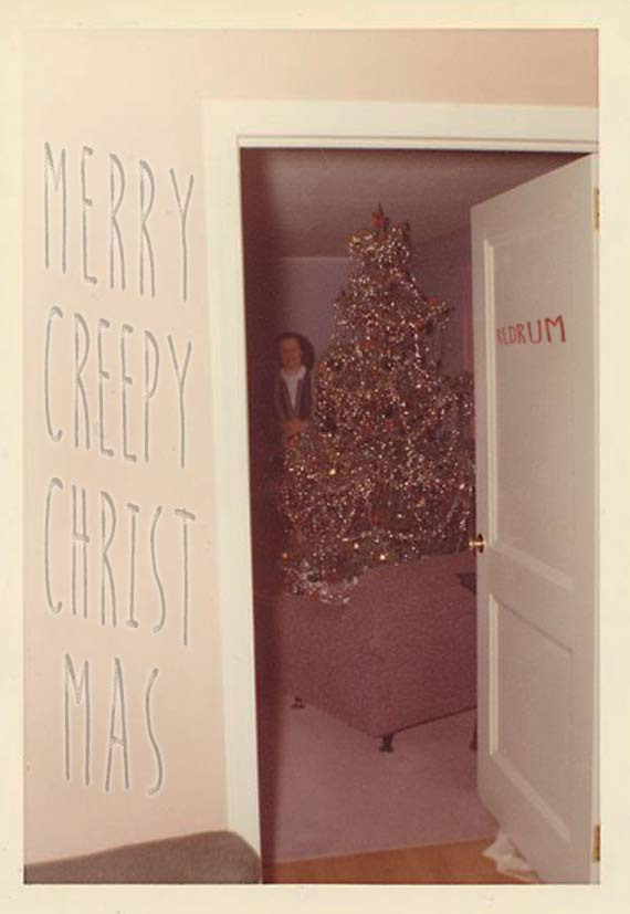 merry creepy christmas 27 funny family christmas photos