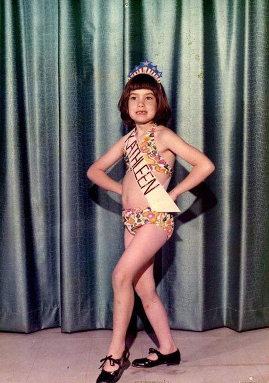 Awkward Portrait Kathleen Beauty Pageant ~ 16 Funny Family Photos