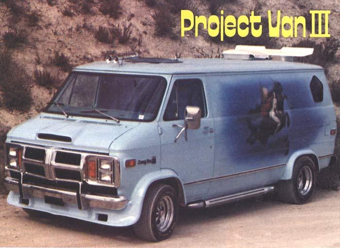 1970s Custom Van ~ Project Van III