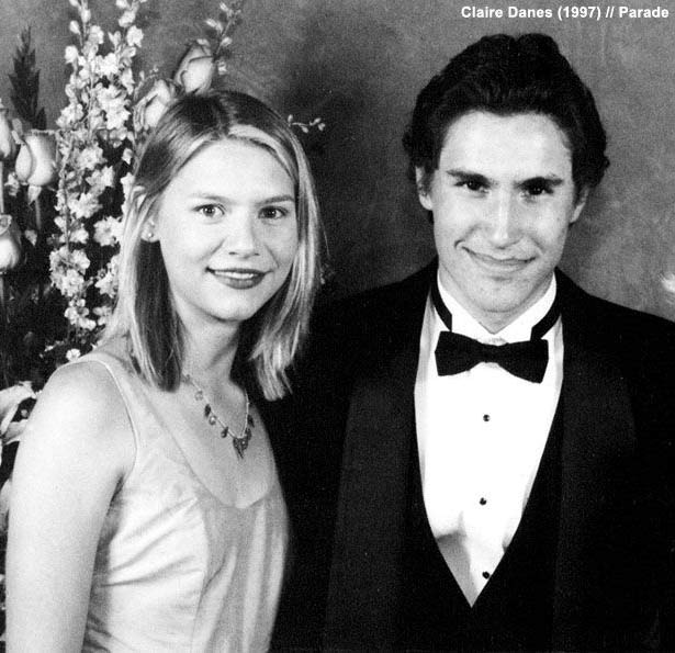 40 celebrity prom pictures ~ Claire Daines
