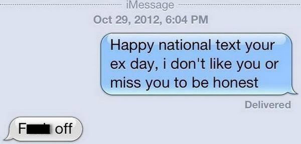32 of the Funniest Break Texts & Trolling Ex's